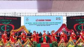 Biggest cement assembly line inaugurated in Vietnam