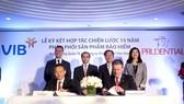Prudential Việt Nam và VIB: Đối tác chiến lược trong 15 năm