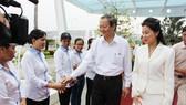 Lãnh đạo TPHCM thăm và chúc Tết công nhân xử lý rác
