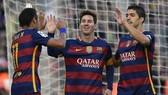 """Barcelona: """"MSN"""", bộ ba của những kỷ lục"""