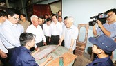 Kịp thời chống hạn, mặn, bảo đảm sản xuất và sinh hoạt của nhân dân