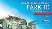 Vay vốn mua căn hộ Park 10 Master Premium với lãi suất 0%