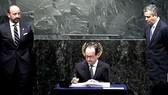 Lễ ký kết Hiệp định Paris: Dấu mốc trong nỗ lực bảo vệ Trái đất