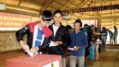 Những lá phiếu bầu cử sớm