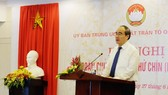 Ủy ban TƯ MTTQ Việt Nam kiến nghị Quốc hội và Chính phủ có giải pháp giữ chủ quyền biển đảo