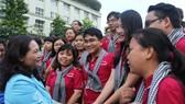 Ra quân các hoạt động tình nguyện hè tại CHDCND Lào