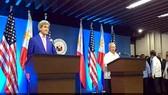 Ngoại trưởng Mỹ đến Philippines thúc đẩy đàm phán về biển Đông