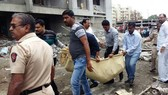 Sập nhà cao tầng đang xây ở Ấn Độ, 9 người chết