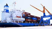 South Korea-Chu Lai container shipping route launched in Quang Nam