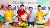 Báo SGGP Online tổ chức giao lưu với đội tuyển Futsal Việt Nam