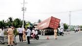 Tai nạn giao thông tại Bến Tre, ít nhất 2 người chết, 15 người bị thương