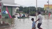 800 nhà dân, 1.000ha lúa bị ngập do mưa lũ tại Bình Thuận