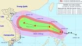 Thông tin mới nhất về cơn bão Sarika