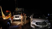Lại xảy ra tai nạn giao thông liên hoàn ở Quảng Trị