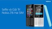 Mua Nokia 216,nhận thẻ nhớ và 12 game