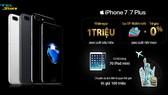 Đặt trước iPhone 7, được giảm 1 triệu đồng