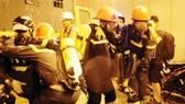 Diễn tập chữa cháy, cứu nạn cứu hộ trong hầm vượt sông Sài Gòn