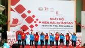 Sôi nổi ngày hội hiến máu nhân đạo - Festival trái tim nhân ái