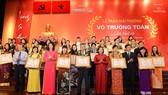 Giải thưởng Võ Trường Toản năm 2016: Tôn vinh 33 nhà giáo xuất sắc