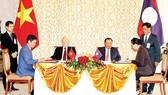 Tổng Bí thư Nguyễn Phú Trọng thăm hữu nghị chính thức CHDCND Lào