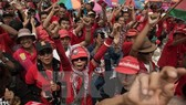19 red-shirt leaders arraigned in Thailand