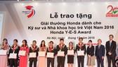 Honda Việt Nam tôn vinh kỹ sư và nhà khoa học trẻ Việt Nam