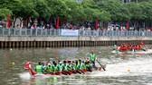 Sôi nổi giải đua thuyền truyền thống TPHCM