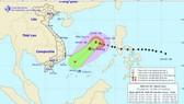 Dự báo bão Nock-ten sẽ ngoặt về phía Nam