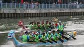 Quận Bình Thạnh nhất toàn đoàn Giải đua thuyền truyền thống TPHCM chào năm 2017