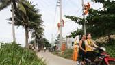 Đóng điện lưới quốc gia cho Xã đảo Hòn Nghệ