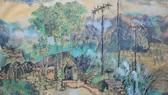 Trưng bày 100 ký họa màu nước của danh họa Việt