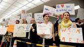 Nước Mỹ sôi sục vì lệnh cấm người dân 7 nước nhập cảnh