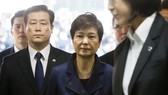 S.Korea's ousted president Park appears in court