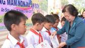 Nguyên Phó Chủ tịch nước vận động xây trường mầm non ở xã đảo