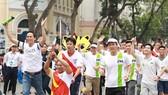 Chạy tiếp sức hưởng ứng SEA Games và ASEAN Para Games 2017