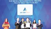 """Đất Xanh Group xuất sắc vào """"Top 150 doanh nghiệp tăng trưởng nhanh nhất Việt Nam"""""""