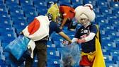 Nhật Bản luôn làm thế giới ấn tượng bằng hành động đẹp của mình. Ảnh: AFP