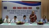 Hội thảo Kỷ niệm 100 năm năm sinh nhà thơ Nguyễn Bính