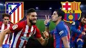 Atletico Madrid - Barcelona 1-1: Barca đứt mạch 7 trận thắng