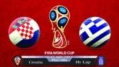 Croatia - Hy lạp 4-1: Croatia hạ gục các vị thần