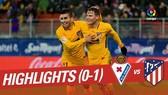 Eibar - Atletico Madrid 0-1: Gameiro lập công