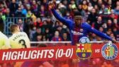 Barcelona - Getafe 0-0: Messi, Suarez, Coutinho im tiếng