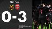 Oestersunds FK - Arsenal 0-3: Monreal, Ozil nổ súng, Pháo thủ đại thắng