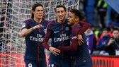 PSG - Strasbourg 5-2 : Dàn sao Neymar, Di Maria, Cavani thị uy