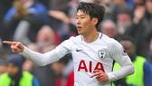 Tottenham Hotspur - Huddersfield Town 2-0: Son Heung-min lập cú đúp