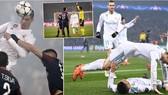 PSG - Real Madrid 1-2 (chung cuộc 2-5): Ronaldo,Casemiro tiễn PSG...