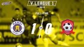 Hà Nội - Hải Phòng 1-0: Văn Đại ghi bàn, Văn Lâm vất vả chống đỡ