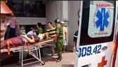 Giải cứu nam thanh niên bị thang máy kẹp cổ nguy kịch ở TPHCM