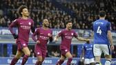 Everton - Man City 1-3: Lại thắng đậm, Man xanh vô đối