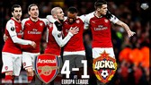 Arsenal - CSKA Moscow 4-1: Ramsey, Lacazette làm đại tiệc cho Pháo thủ
